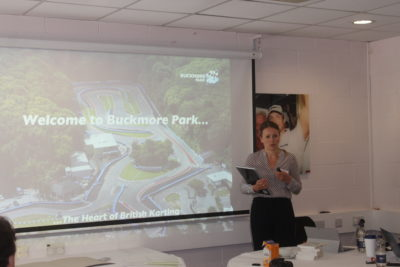 Leonora Surtees - MD of Buckmore Park Karting Limited
